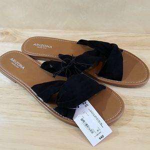 NWT Arizona Slip-on Sandals, sz 11m